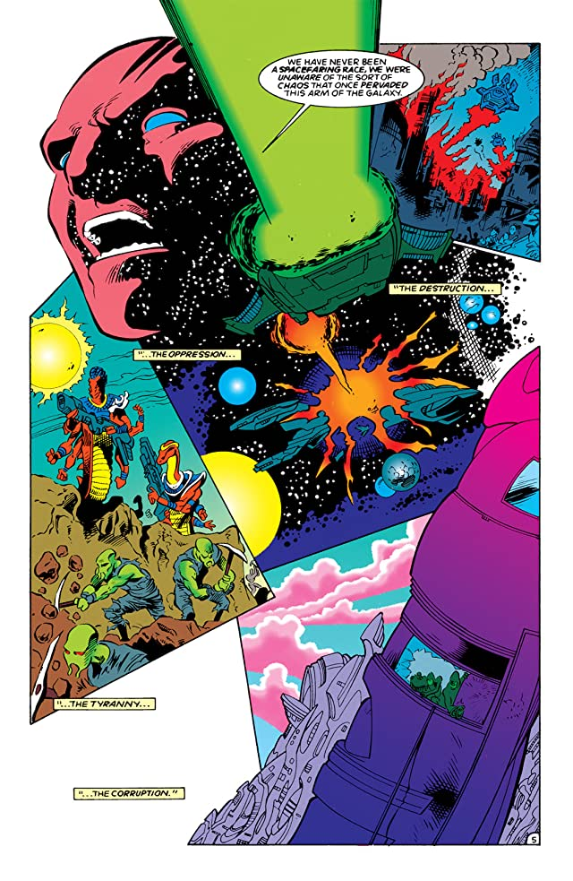 click for super-sized previews of The Darkstars (1992-1996) #0