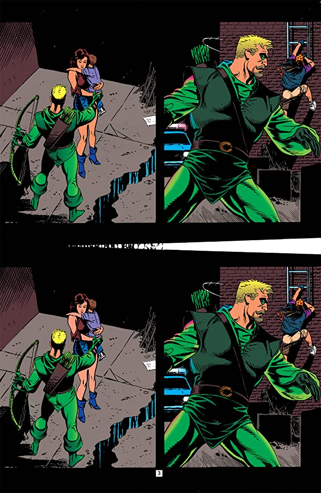 click for super-sized previews of Green Arrow (1988-1998) #90