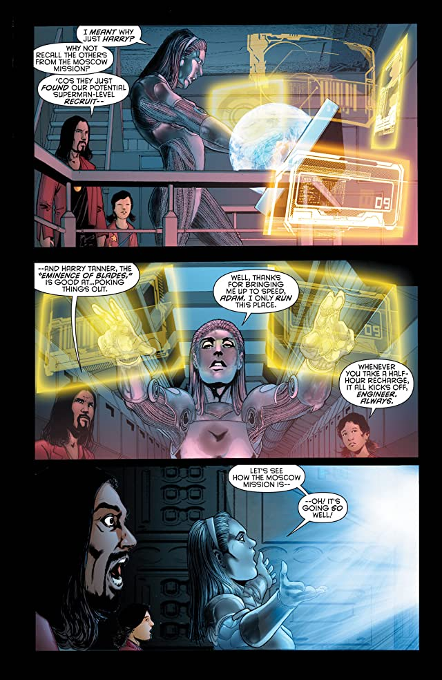 click for super-sized previews of Stormwatch (2011-2014) #1