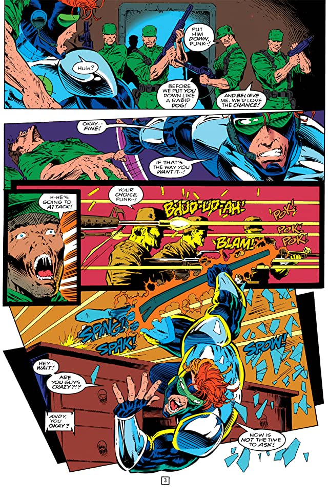 click for super-sized previews of Gunfire (1994-1995) #0
