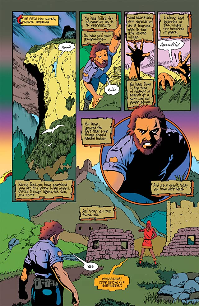 click for super-sized previews of Primal Force (1994-1995) #0