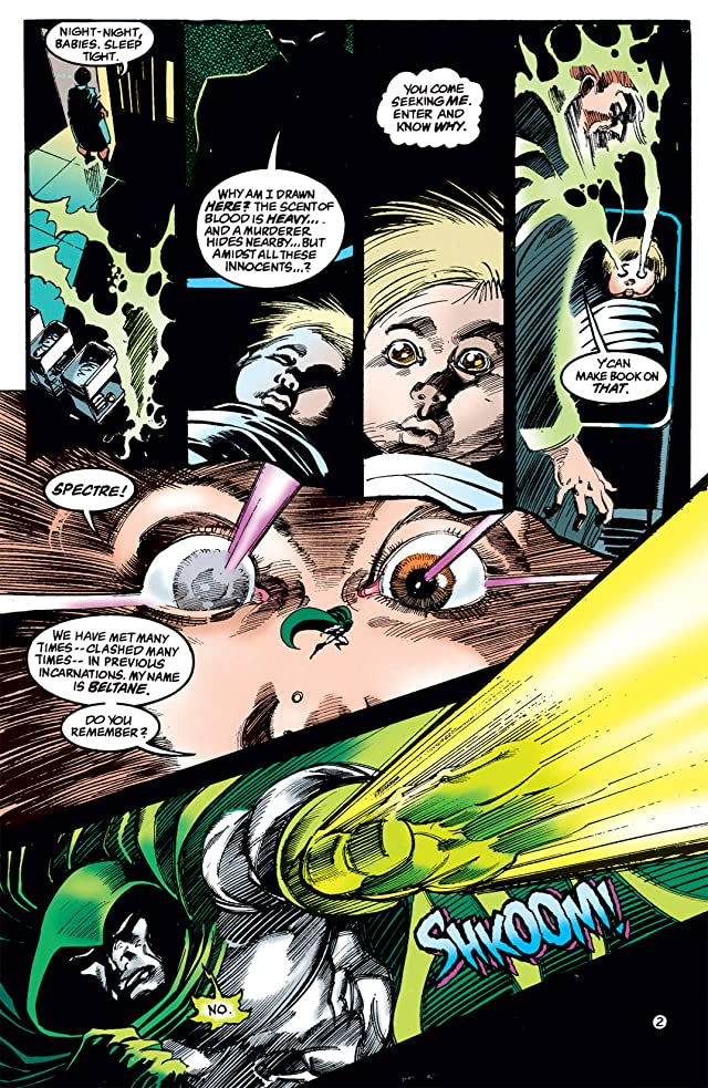 click for super-sized previews of The Spectre (1992-1998) #0