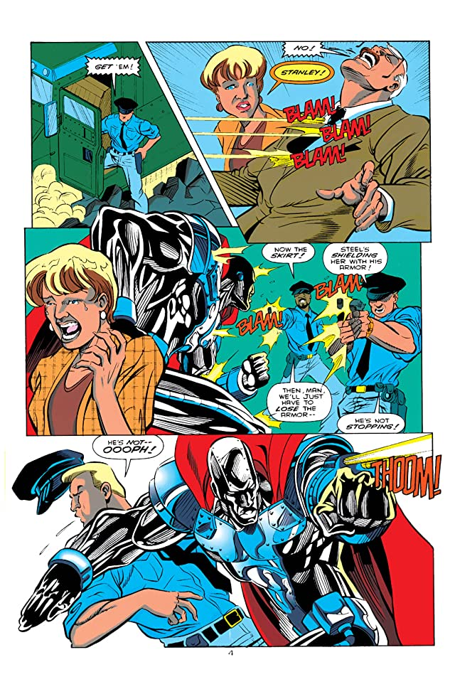 click for super-sized previews of Steel (1994-1998) #0