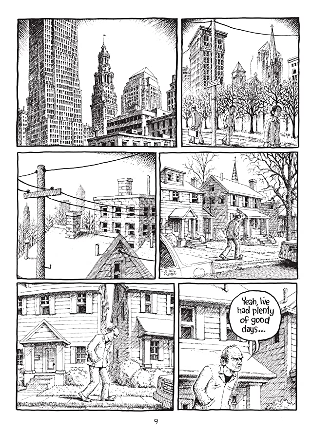click for super-sized previews of Harvey Pekar's Cleveland