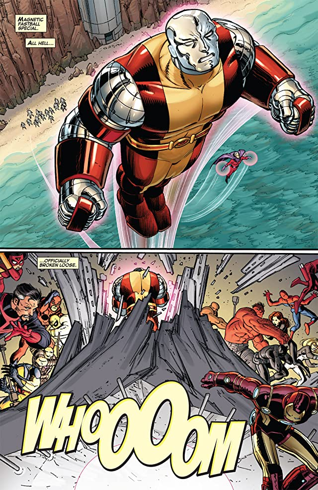 click for super-sized previews of Avengers vs. X-Men #2