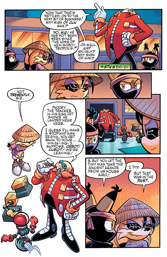 click for super-sized previews of Sonic Universe #39