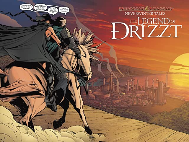 click for super-sized previews of Dungeons & Dragons: Drizzt #2 (of 5)