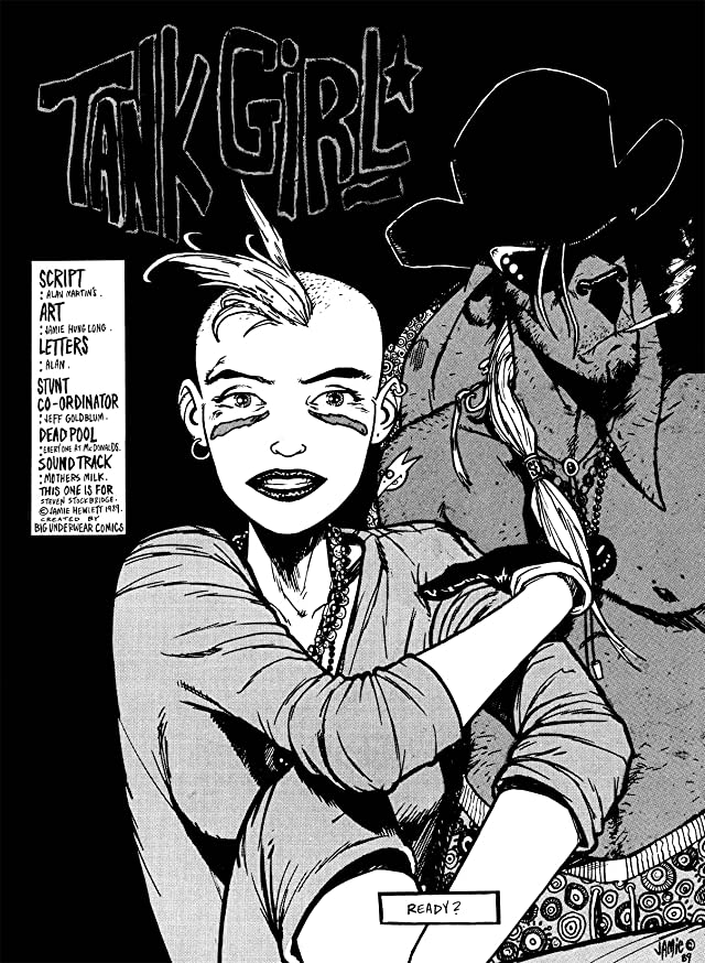 click for super-sized previews of Tank Girl Classic #5