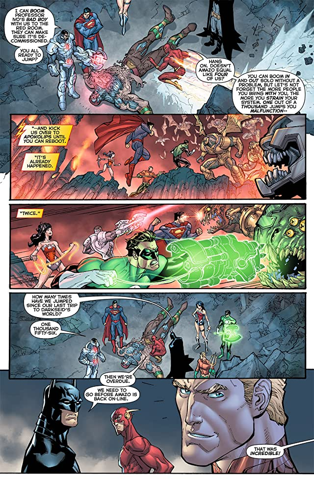 click for super-sized previews of Justice League (2011-) #8