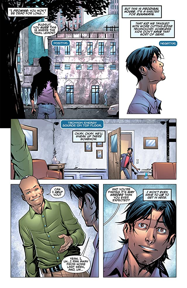 click for super-sized previews of Blue Beetle (2011-2013) #8