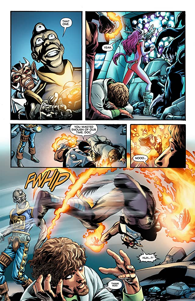 click for super-sized previews of Legion of Super-Heroes (2011-2013) #8