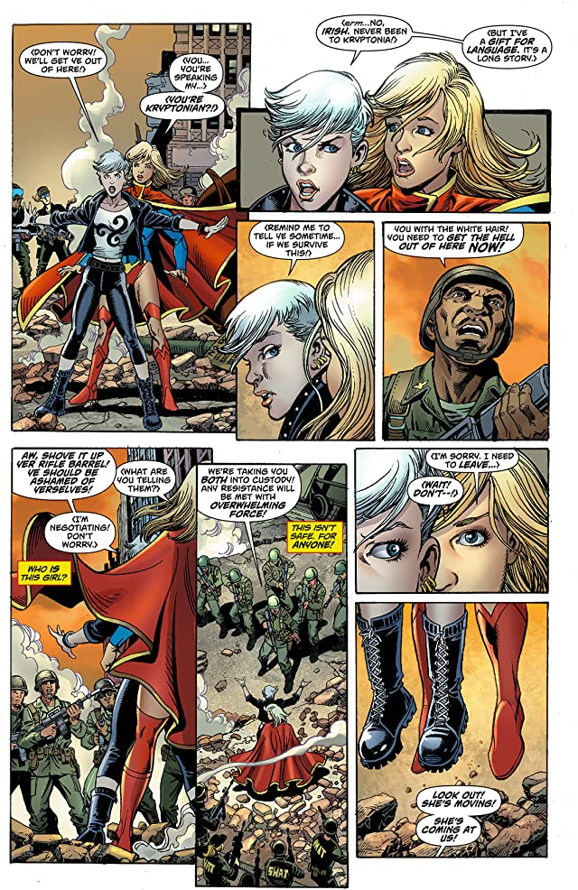 click for super-sized previews of Supergirl (2011-2015) #8