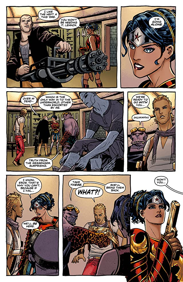 click for super-sized previews of Wonder Woman (2011-) #8