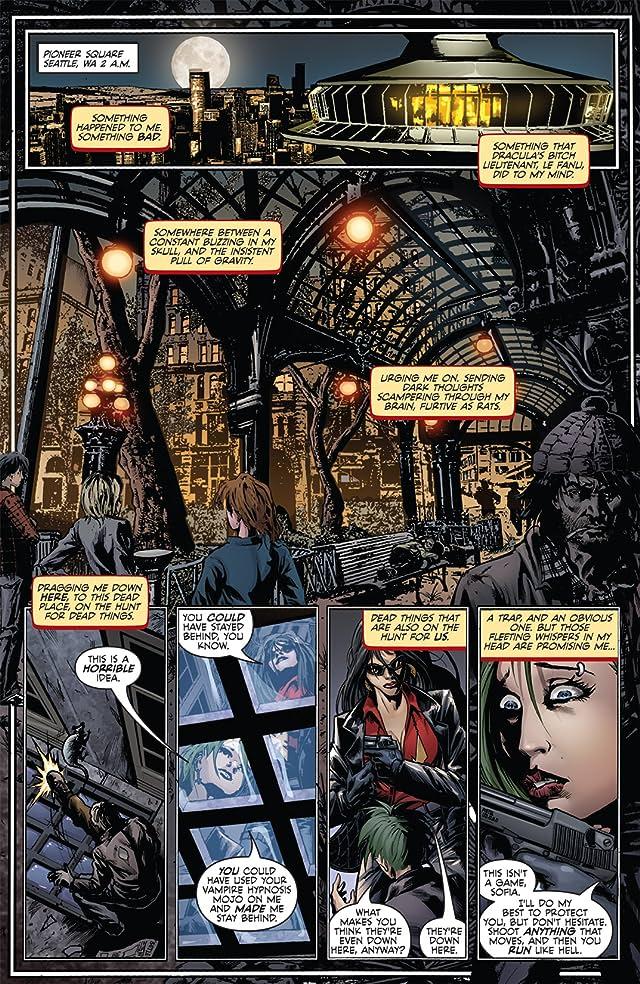 click for super-sized previews of Vampirella #4