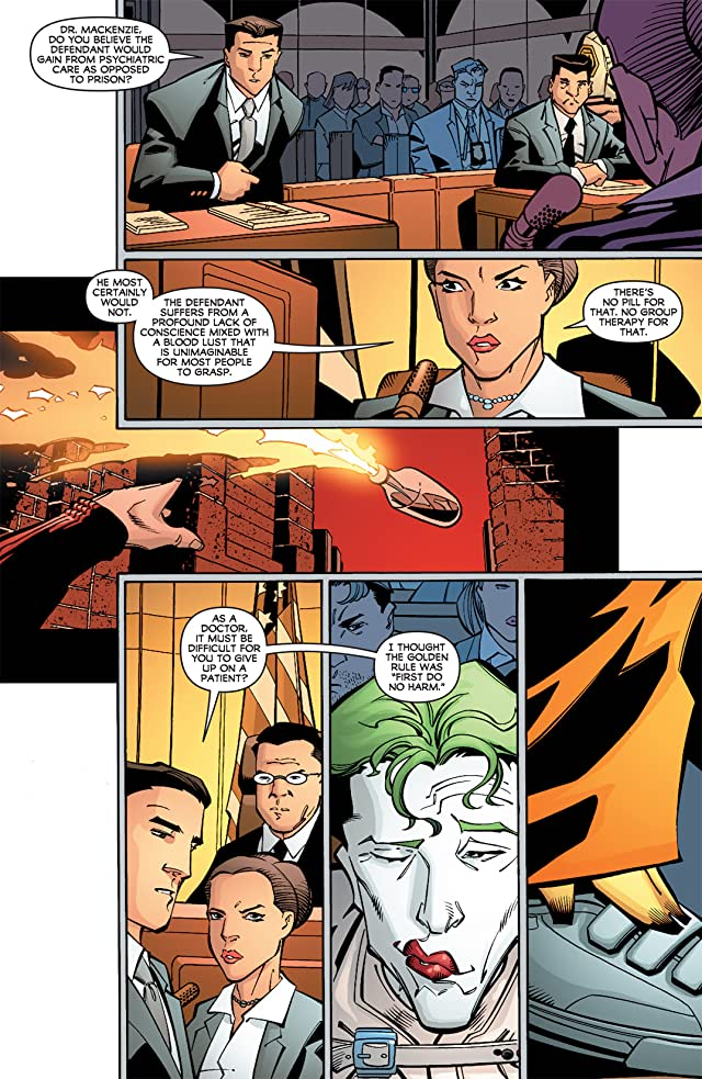 click for super-sized previews of Batman Confidential #24