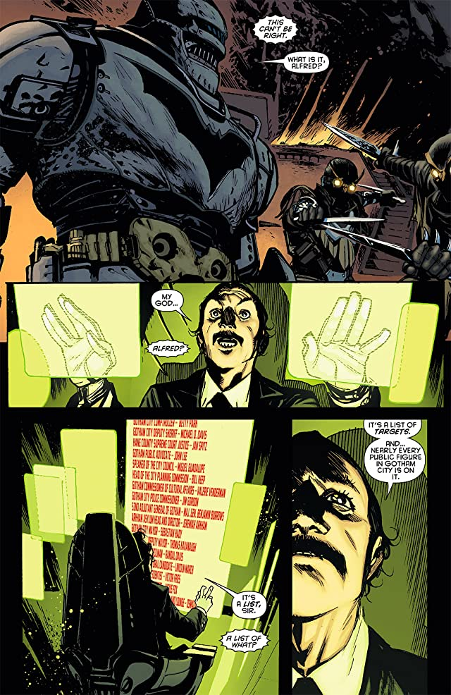 click for super-sized previews of Batman: Night of the Owls Booklet #1