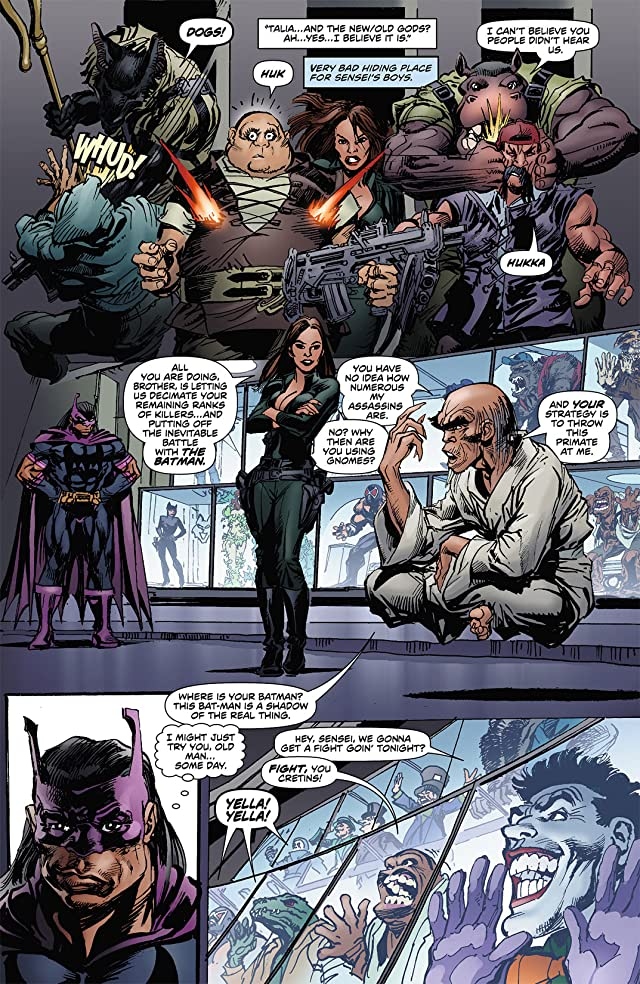 click for super-sized previews of Batman: Odyssey (2011-2012) #7
