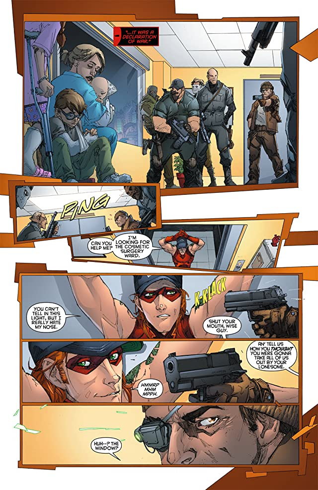 click for super-sized previews of Red Hood and the Outlaws (2011-2015) #8