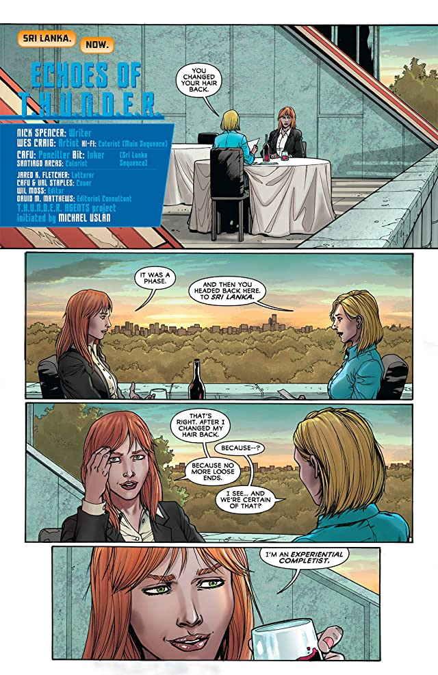 THUNDER Agents (2011-2012) #6 (of 6)