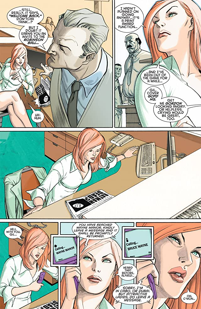 click for super-sized previews of Gotham Gazette: Batman Dead #1