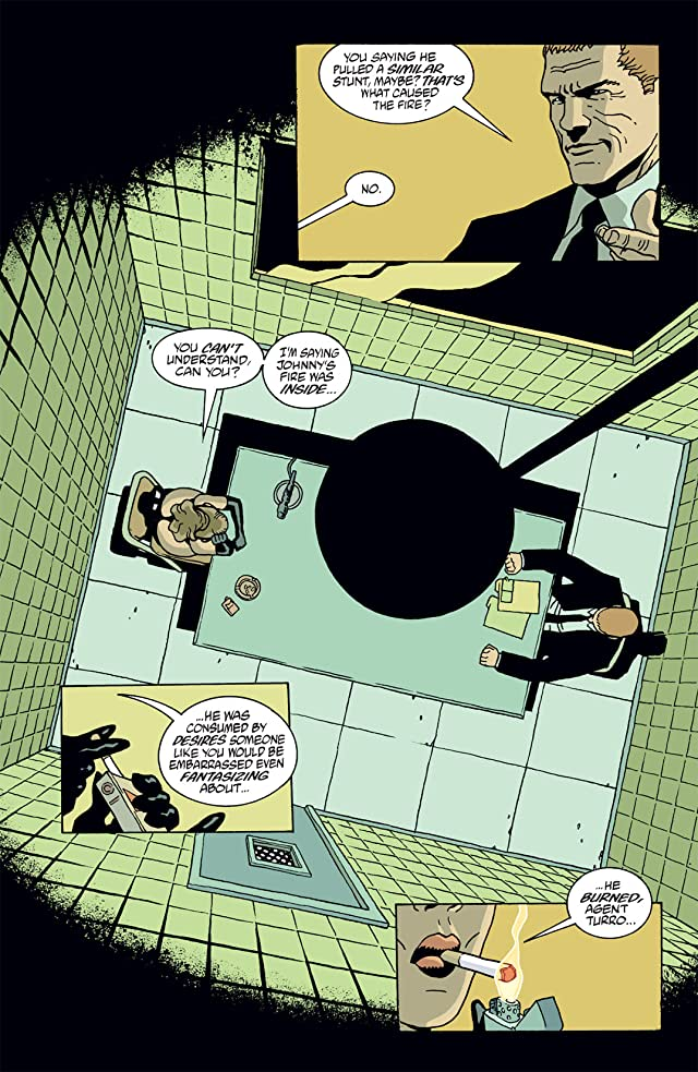 click for super-sized previews of Hellblazer #171