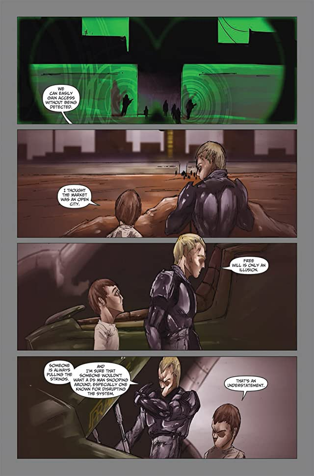 click for super-sized previews of Logan's Run: Aftermath #3