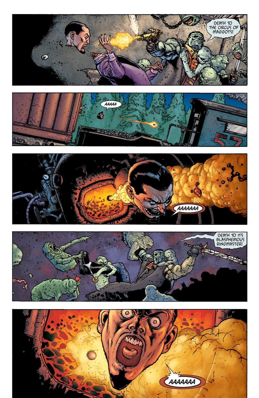 Seven Soldiers: Frankenstein #1 (of 4)