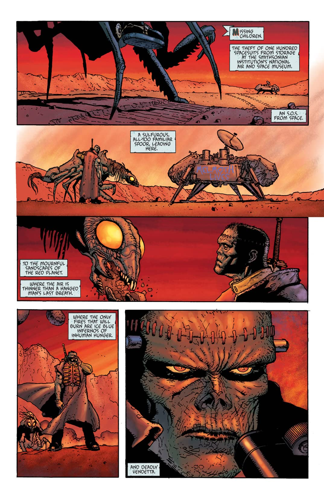 Seven Soldiers: Frankenstein #2 (of 4)