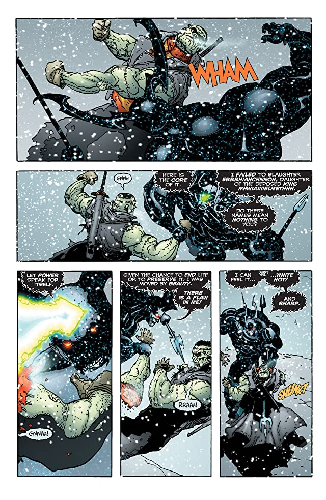 click for super-sized previews of Seven Soldiers: Frankenstein #4