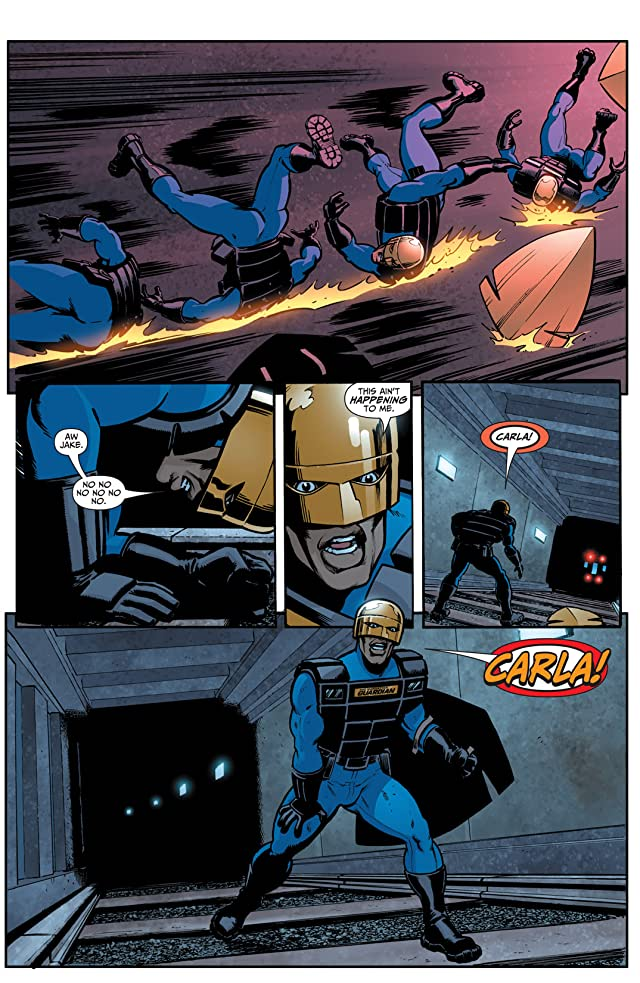 click for super-sized previews of Seven Soldiers: The Manhattan Guardian #2