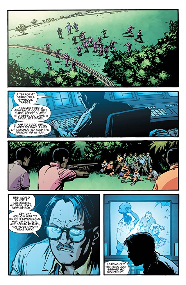 click for super-sized previews of Seven Soldiers: The Manhattan Guardian #3