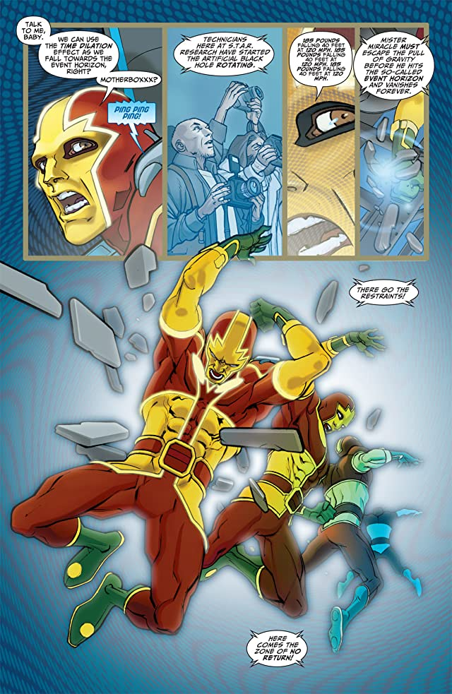 click for super-sized previews of Seven Soldiers: Mister Miracle #1