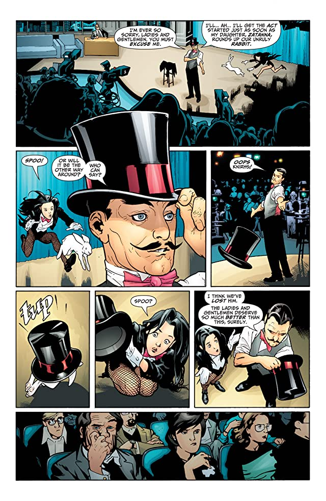 click for super-sized previews of Seven Soldiers: Zatanna #1