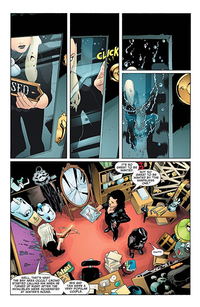 click for super-sized previews of Seven Soldiers: Zatanna #2