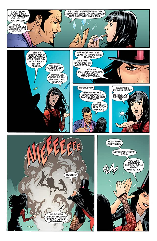 click for super-sized previews of Seven Soldiers: Zatanna #3 (of 4)