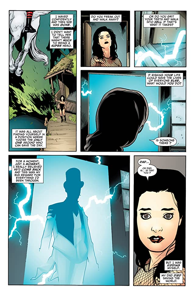 click for super-sized previews of Seven Soldiers: Zatanna #4 (of 4)