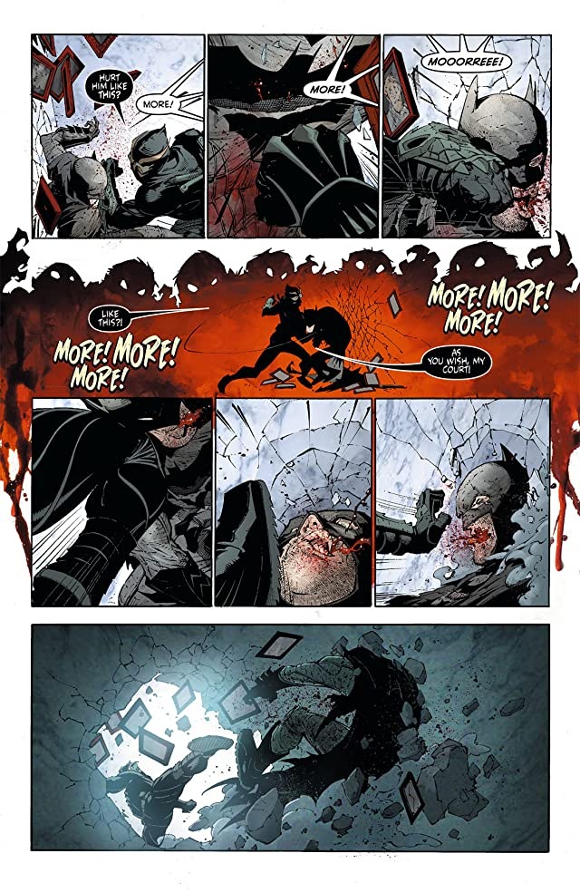 click for super-sized previews of Batman (2011-) #6