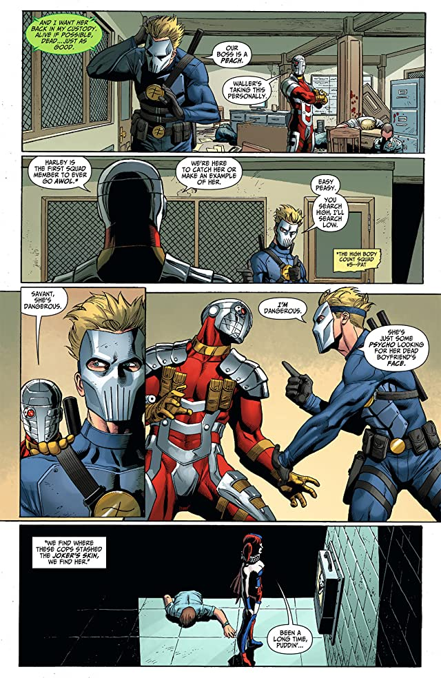 click for super-sized previews of Suicide Squad (2011-2014) #7
