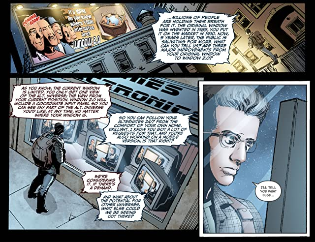 click for super-sized previews of Beyond the Fringe #1: Chapter B