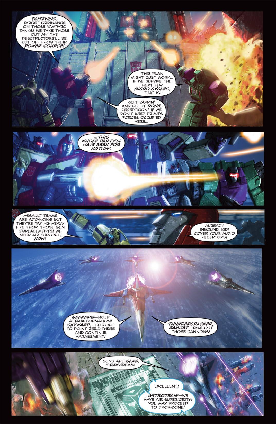 Transformers: Autocracy #8