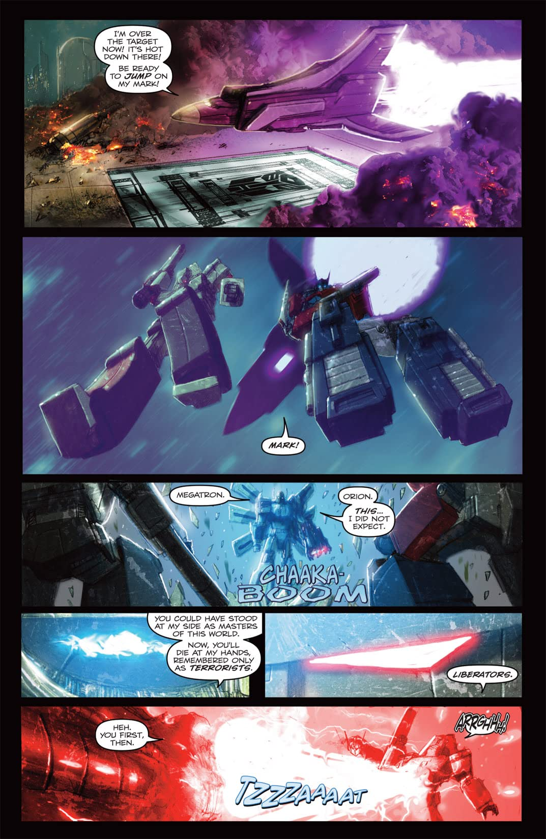 Transformers: Autocracy #8