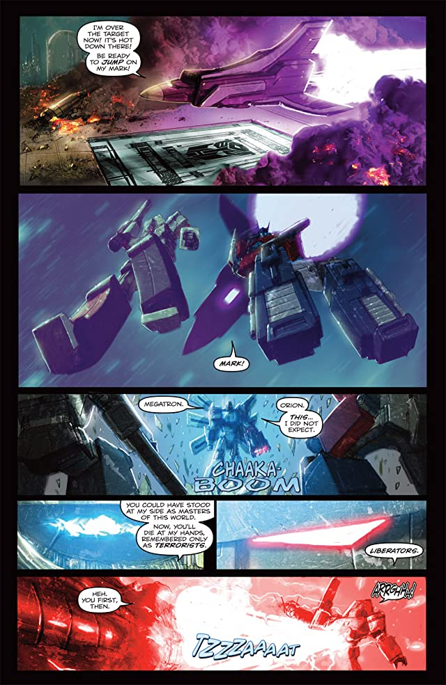 click for super-sized previews of Transformers: Autocracy #8