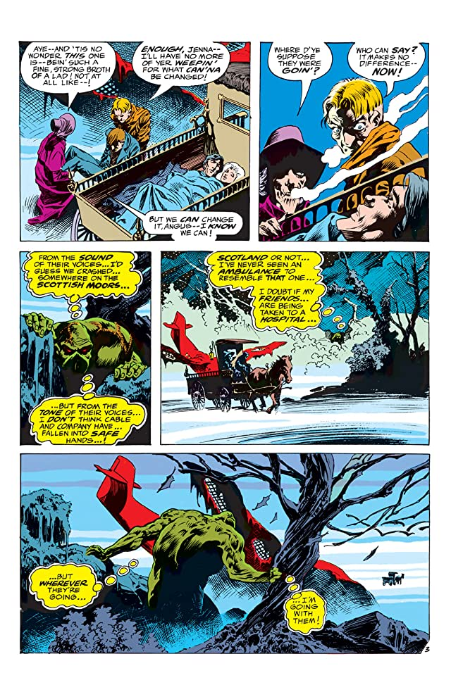 click for super-sized previews of Swamp Thing (1972-1976) #4
