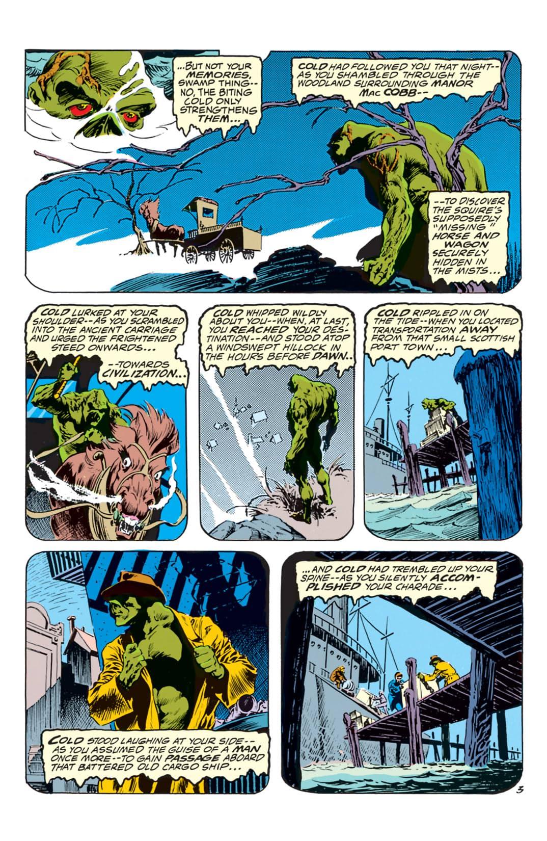 Swamp Thing (1972-1976) #5