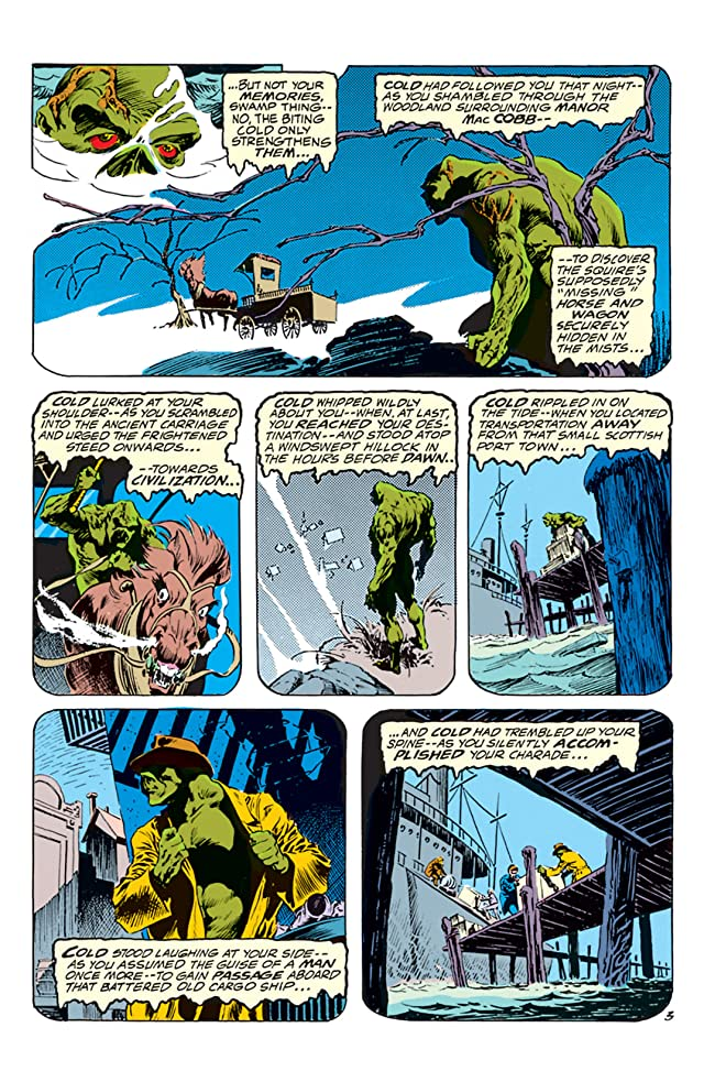 click for super-sized previews of Swamp Thing (1972-1976) #5