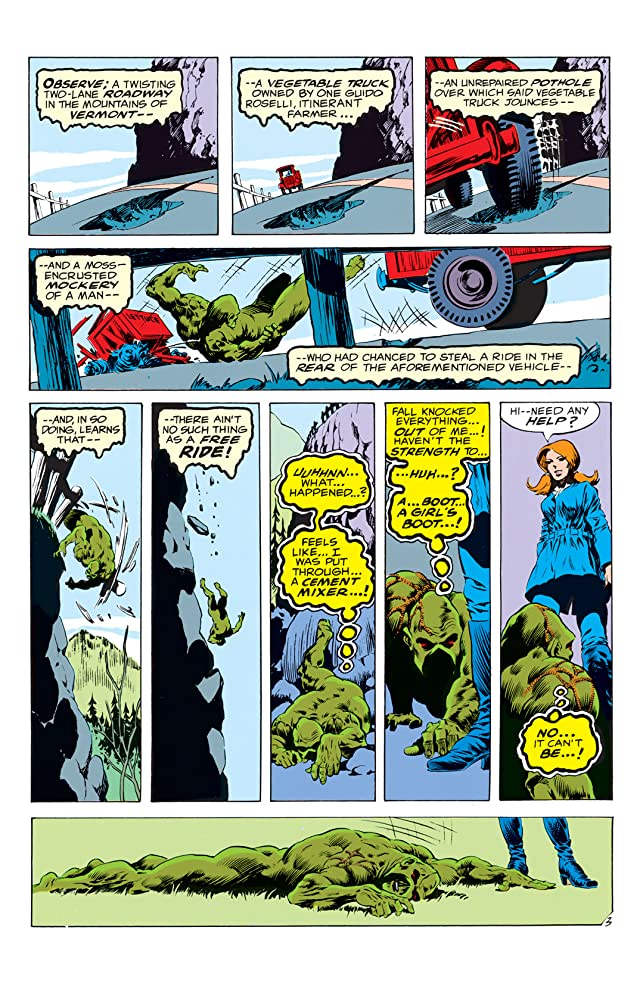 click for super-sized previews of Swamp Thing (1972-1976) #6