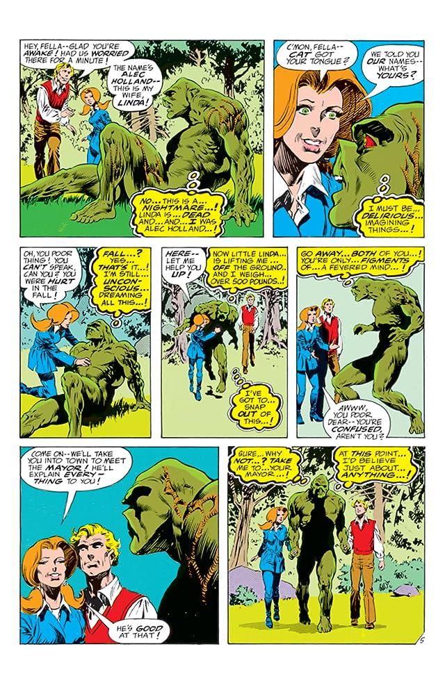 Swamp Thing (1972-1976) #6