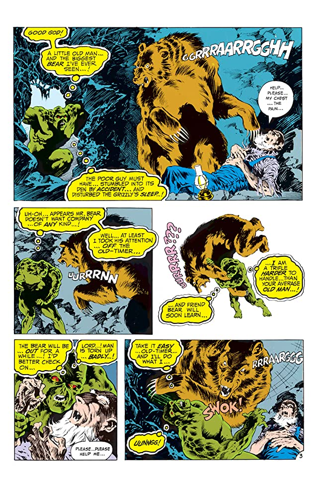click for super-sized previews of Swamp Thing (1972-1976) #8