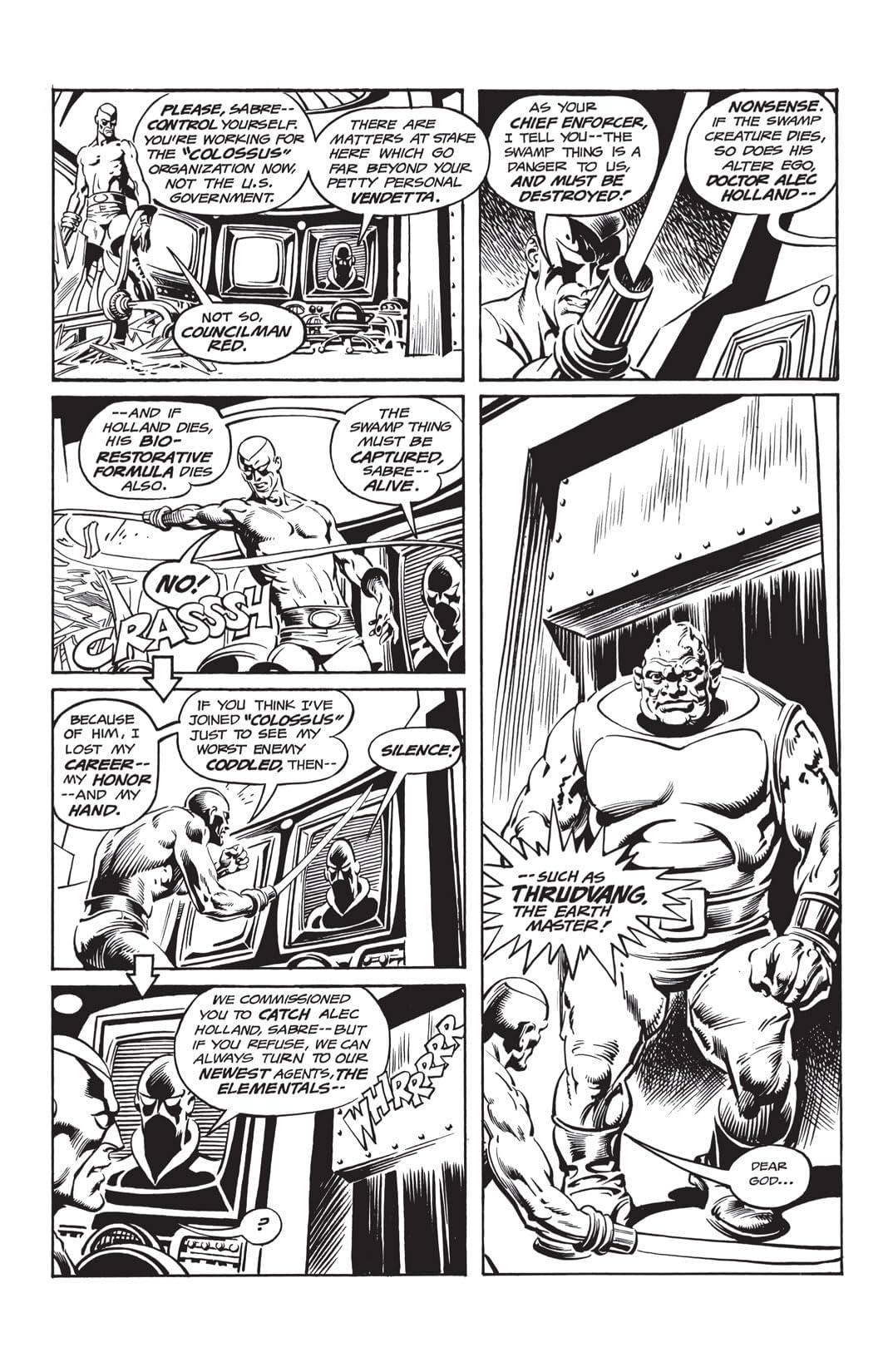 Swamp Thing (1972-1976) #23