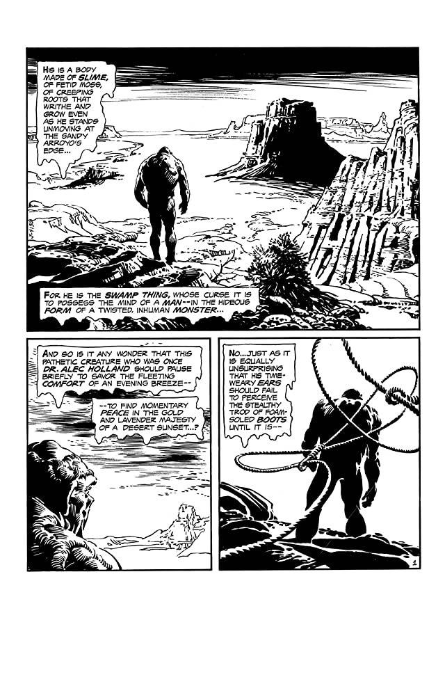 click for super-sized previews of Swamp Thing (1972-1976) #22